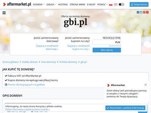 Gbi.pl producent okien