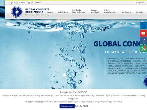 Global Concepts 2000 korozja tlenowa