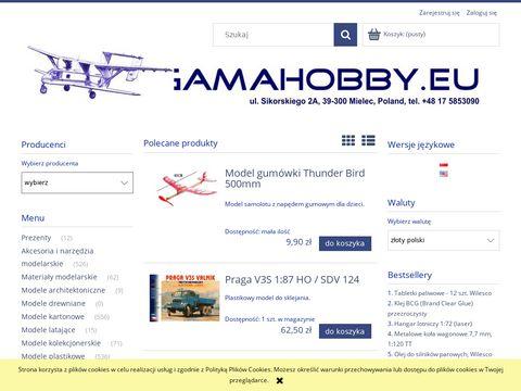 Gamahobby.pl - sklep modelarski