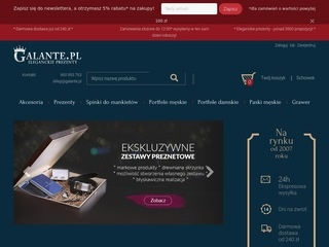 Galante.pl - portfele