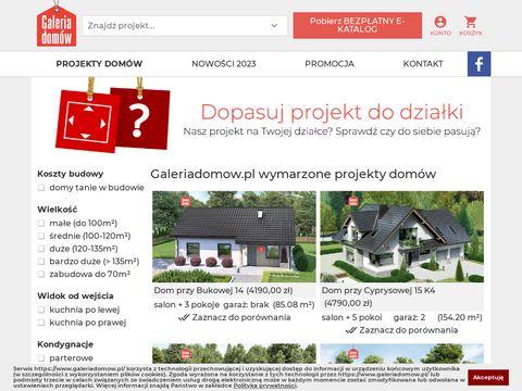 Galeriadomow.pl projekty domów
