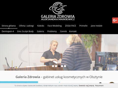Galeriazdrowia.olsztyn.pl kapsuła SPA