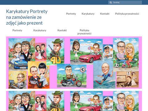 Galeria-krakowska.com karykatury na prezent