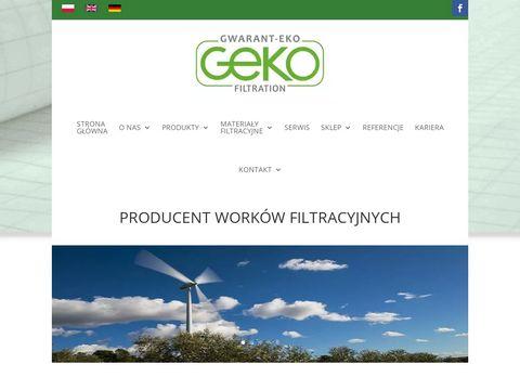 Gwaranteko.pl - worki filtracyjne