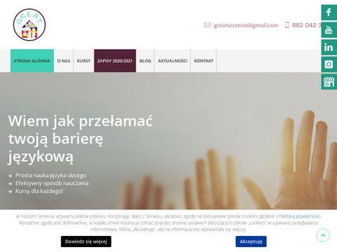 Great-online.pl angielski kursy Gryfino