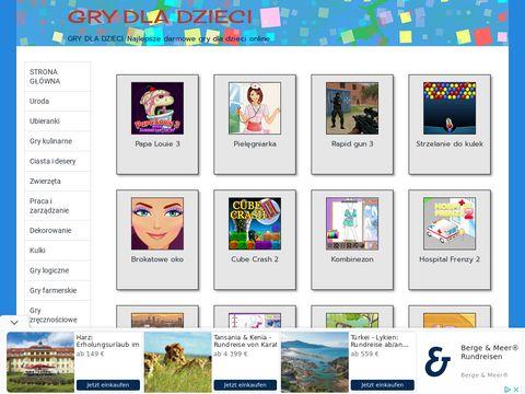 Grydladzieci.biz.pl - darmowe gry