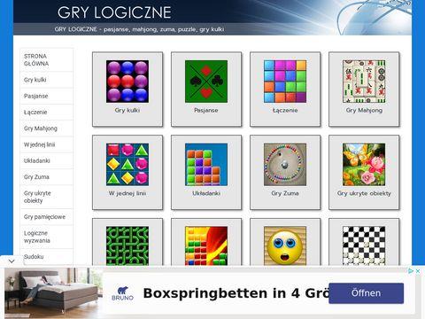 Logiczne gry i zabawy