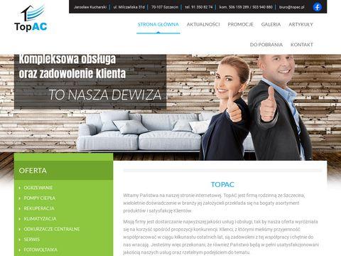 TopAC ogrzewanie Szczecin