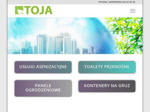 Toja.info usługi asenizacyjne