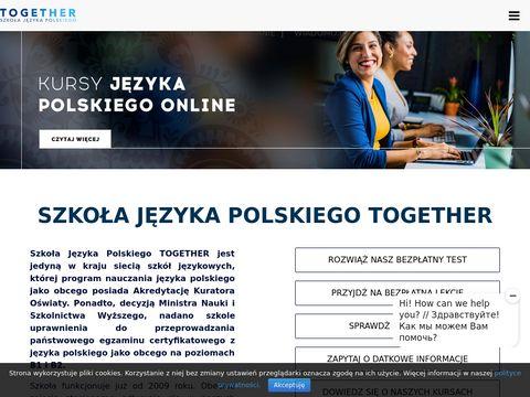 Together-school.pl kurs angielskiego