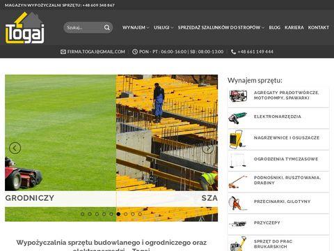 Togaj.pl wynajem szalunków Śląsk