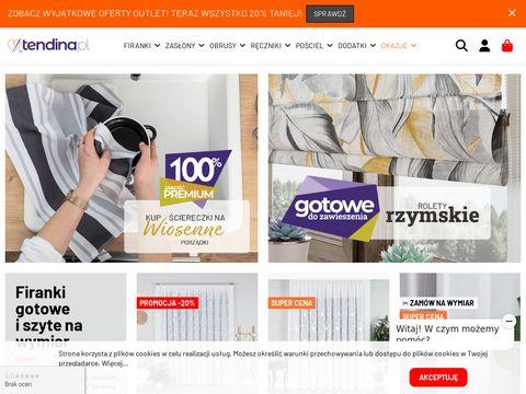 Tendina.pl firany balkonowe