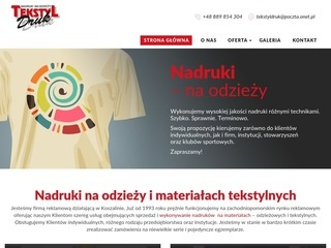 Tekstyldruk.com.pl nadruki
