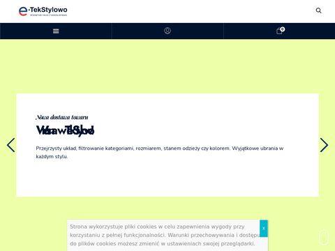 Tekstylowo.pl odzież używana