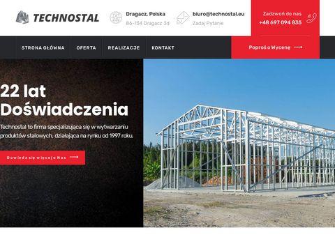 Technostal.eu hale przemysłowe