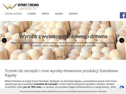 Trzonkidrewniane.pl S. Rąpała styliska do siekier