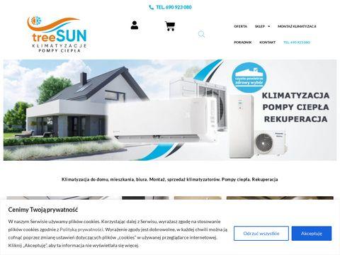 Treesun.pl montaż klimatyzatorów