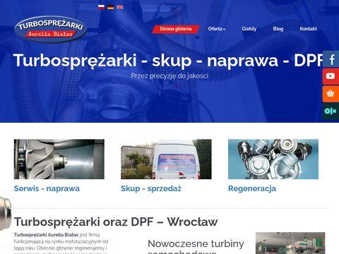 Turbosprezarki.com naprawa turbin