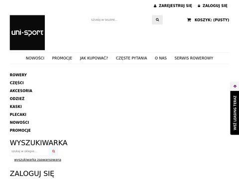 Uni-sport.com.pl Katowice sklep rowerowy