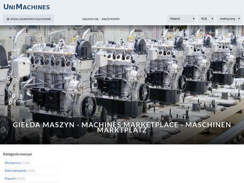 UniMachines.pl giełda maszyn CNC