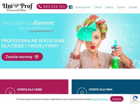 Uniprof-sprzatanie.pl pranie tapicerki Olkusz
