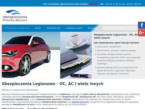 Ubezpieczenia-legionowo.eu Marzena Plutecka