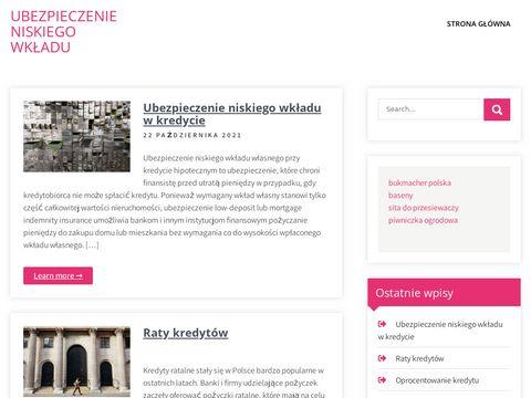 Ubezpieczenieniskiegowkladu.pl zwrot ubezpieczenia