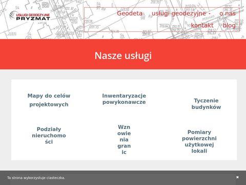 Ugpryzmat.pl geodeta Radzymin