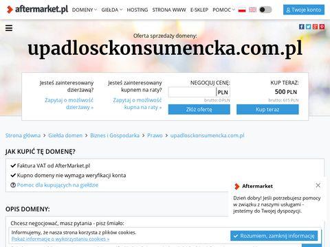 Upadlosckonsumencka.com.pl