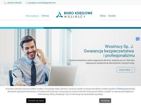 Uslugiksiegowewieliczka.pl Wosińska Elżbieta