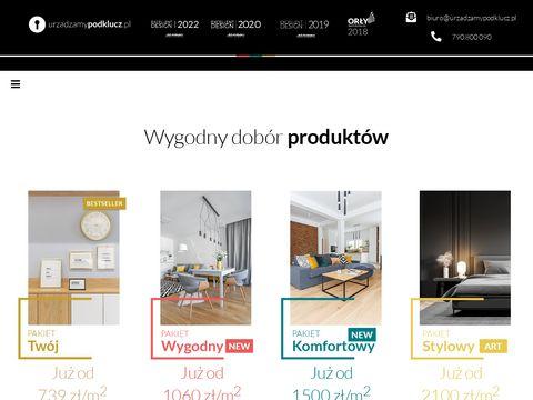 Urzadzamypodklucz.pl - projekty wnętrz
