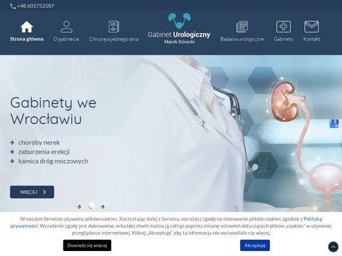 Marek Górecki lekarz medycyny