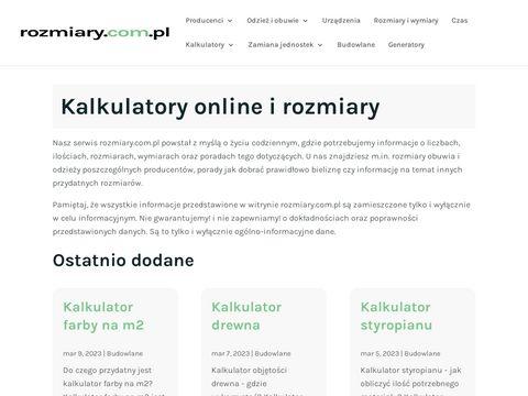 Rozmiary.com.pl