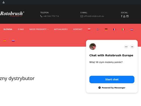 Rotobrush - czyszczenie wentylacji