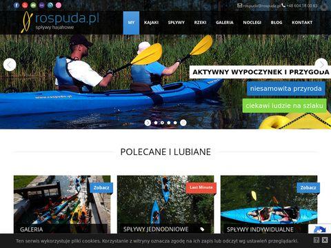 Rospuda.pl spływ