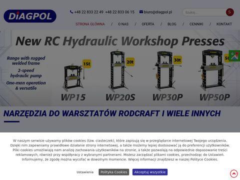 Diagpol narzędzia do warsztatów Rodcraft