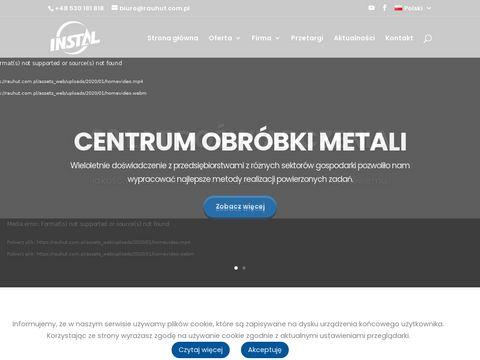 Rauhut.com.pl - cięcie laserem