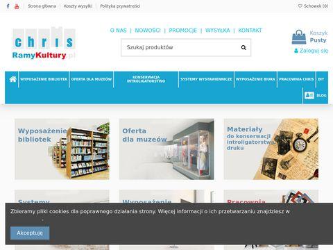 Ramykultury.pl - podpórki pod książki