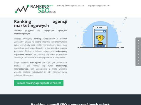 Ranking-seo.pl agencji marketingowych
