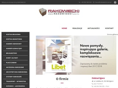 Rakowiecki.com.pl usługi brukarskie