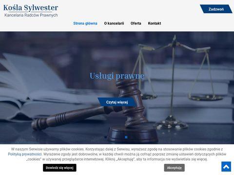 Radcaprawnyostrowiec.pl Kośla Dorota