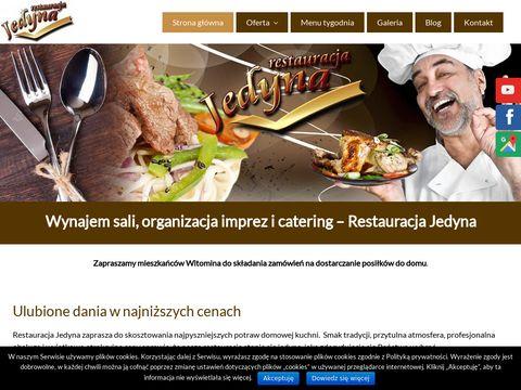 Restauracjajedyna.pl przyjęcia komunijne Gdynia