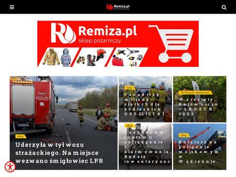 Remiza.com.pl - newsy dla strażaków