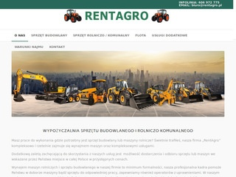 Rentagro.pl wynajem sprzętu rolniczego
