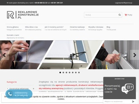 Reklamowekonstrukcje.pl