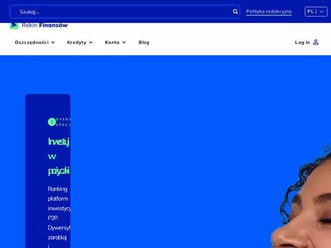 Rekinfinansow.pl blog o finansach osobistych
