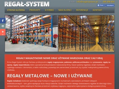 Regalsystem.pl - regały magazynowe