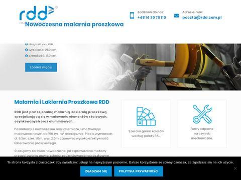Rdd.com.pl lakierowanie proszkowe Rzeszów