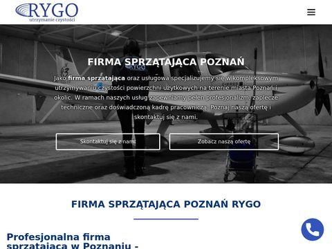 Rygo.com.pl sprzątanie wspólnot mieszkaniowych