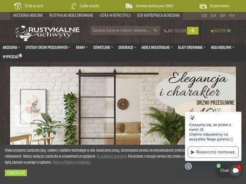 Rustykalneuchwyty.pl klamki i gałki do drzwi i okien